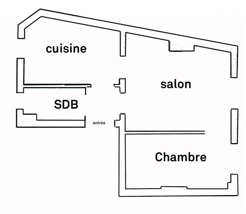 Achat appartement paris 18e arrondissement 75018 2 pi ces 43m safti r seau national for Chambre 9m2 loi