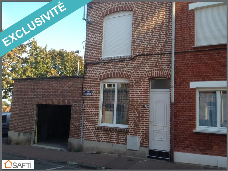 Annonce vente maison tourcoing 59200 90 m 194 000 992738377937 - As immobilier tourcoing ...