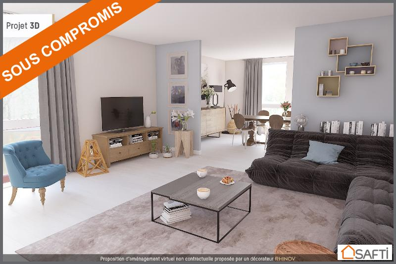 achat appartement merignac 33700 4 pi ces 84m 235 000 safti. Black Bedroom Furniture Sets. Home Design Ideas