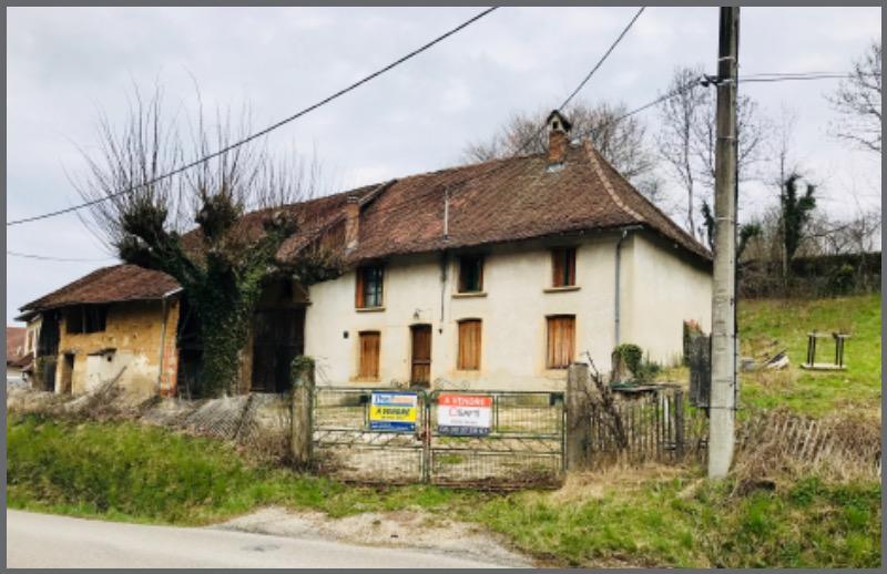 Achat terrain saint etienne de crossey 38960 487m for Renover fenetre