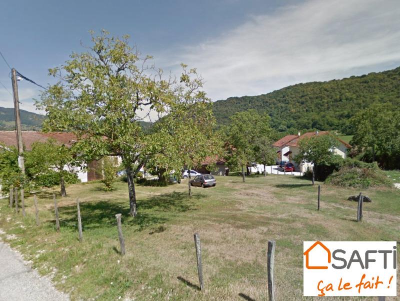 Achat terrain saint etienne de crossey 38960 487m for Achat de terrain financement