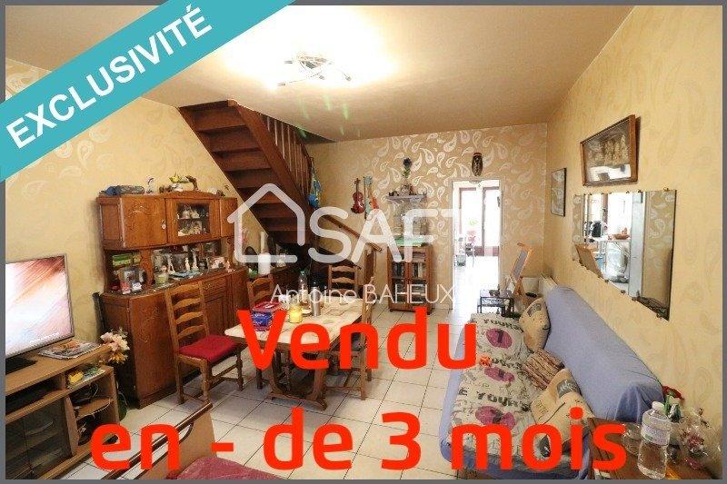 Achat Maison A Flers En Escrebieux 59128 3 Pieces 71m