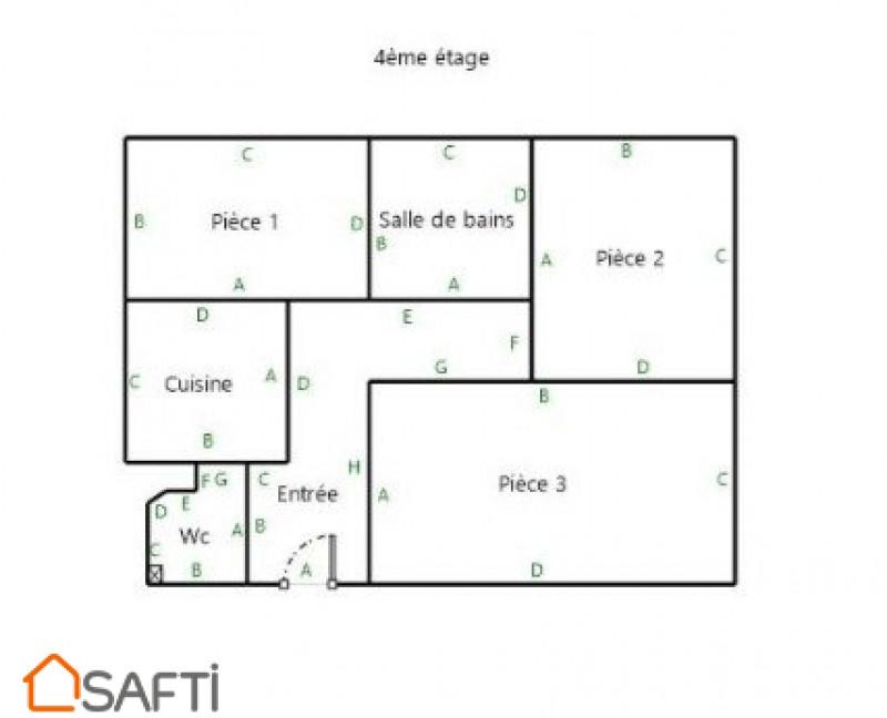 Maison a vendre boulogne-billancourt - 3 pièce(s) - 50 m2 - Surfyn
